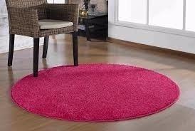 Tapete Redondo Apollo 1mt Pink