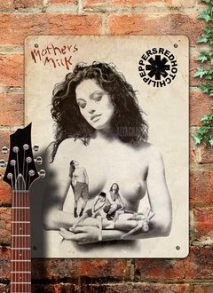 Chapa rústica Red Hot Chili Peppers Mothers Milk
