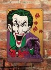 Chapa rústica Comic The Jocker - comprar online