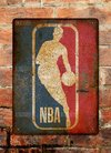 Chapa rústica Basketball NBA