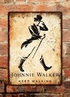 Chapa rústica whiskey Johnnie Walker