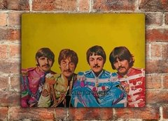 Chapa rústica The Beatles en Sgt. Pepper's Lonely Hearts Club Band