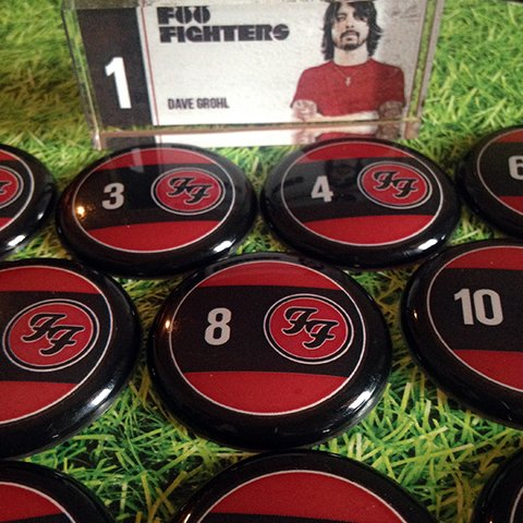 Foo Fighters na internet