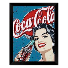 Quadro Decorativo Coca Cola Vintage na internet