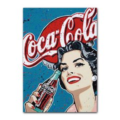 Quadro Decorativo Coca Cola Vintage