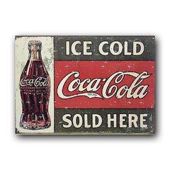 Quadro Decorativo Ice Cold Coca Cola