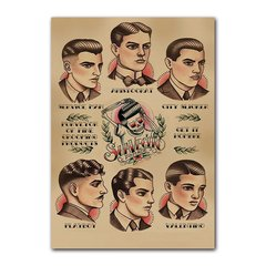 Quadro Decorativo Barbershop Suavecito