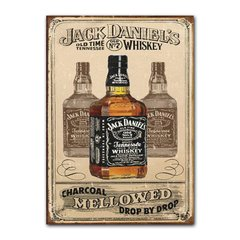 Quadro Decorativo Jack Daniels Mellowed