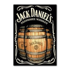 Quadro Decorativo Jack Daniels Barril