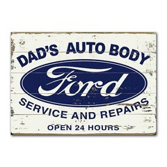 Quadro Decorativo Ford Services
