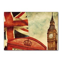 Quadro Decorativo Londres Vintage