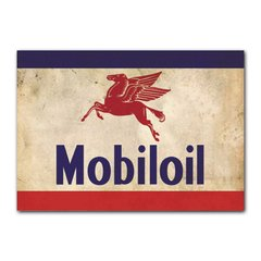 Quadro Decorativo Mobil Oil