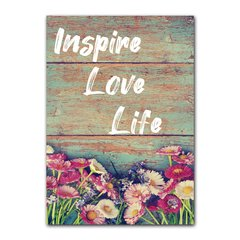 Quadro Decorativo Inspire Love Life