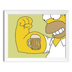 Quadro Decorativo Simpson Beer na internet