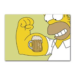 Quadro Decorativo Simpson Beer
