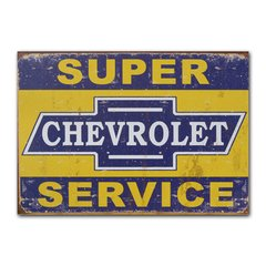 Quadro Decorativo Chevrolet Service