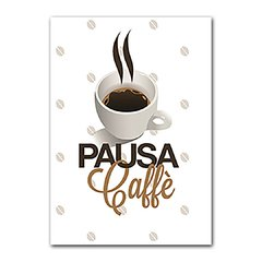 Quadro Decorativo Pausa Coffee