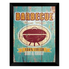 Quadro Decorativo Barbecue na internet