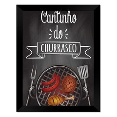 Quadro Decorativo Cantinho do Churrasco na internet