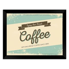 Quadro Decorativo Enjoy Coffee - comprar online
