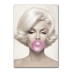 Quadro Decorativo Marilyn Monroe Mascando Chiclete