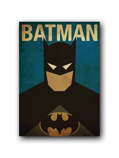 Quadro Decorativo Batman Vintage