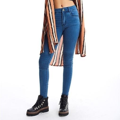 fb763fbd3 Pantalón Jean Mujer Elastizado