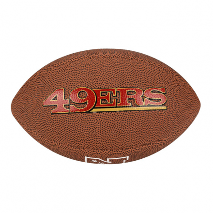 ... Bola Futebol Americano San Francisco 49ers Wilson - WTF1540X - comprar  online 8f9a329e1d945