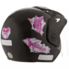 Capacete Atomic Thunder For Girls Preto | 58 Pro Tork - CAP- - comprar online