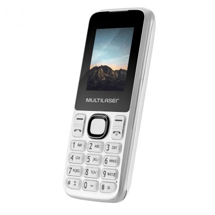 Celular New Up Dual chip com Câmera e Bluetooth MP3 Branco M
