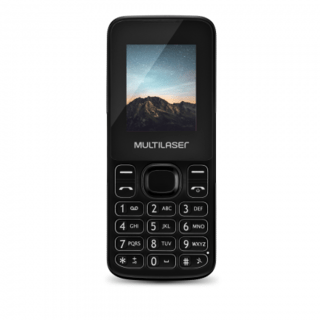 Celular New Up Dual chip com Câmera e Bluetooth MP3 Preto Mu