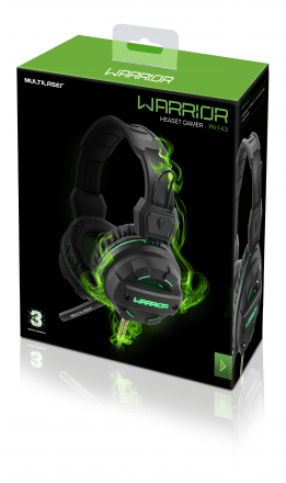 Headphone Multilaser Gamer Green USB Led Light Verde PH143 - Safari Magazine
