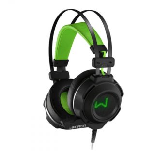Headset Gamer Preto e Verde Warrior - PH225