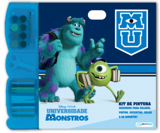 Kit Pintura Monstros University