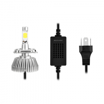 Lampada Super Led Multilaser Hb4 12V 30W 6200K - AU831