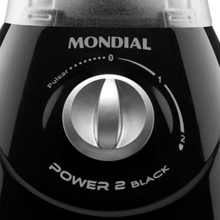 Liquidificador Mondial Power 2 Black L-28 - 220V - comprar online