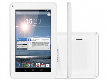 "Tablet M7s Quad Core Wi-fi - 7"" Branco - Nb185"