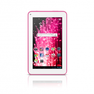 "Tablet M7s Quad Core Tablet Wi-fi - 7"" Rosa - Nb186"