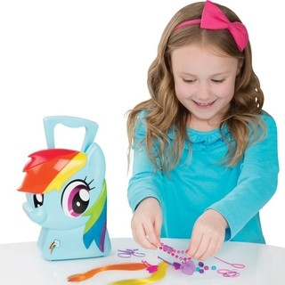 Maleta My Little Pony - Rainbow Dash Estilista - Multikids
