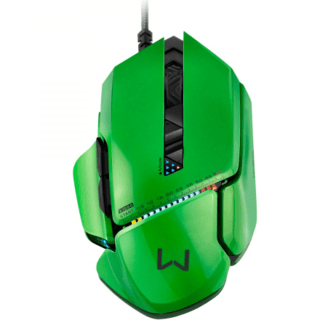 Mouse Gamer Multilaser Warrior 8200Dpi 8 Botões MO247 Led Co na internet