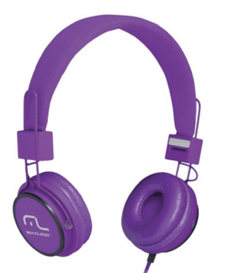 Multilaser Headphone Head Fun com Microfone P2 3,5mm Hi-Fi P
