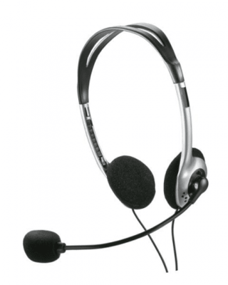Headset Preto Multilaser - PH002