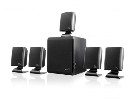 Multilaser Home Theater 5.1 60W RMS Preto SP088
