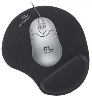 Multilaser Mouse Pad Gel AC024 Preto