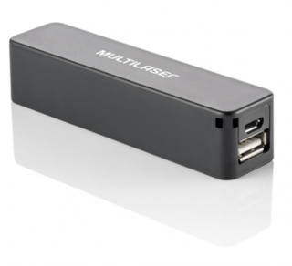 Multilaser Power Bank Carregador USB Portatil - CB069