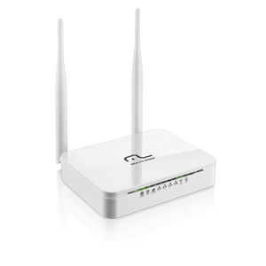 Multilaser Roteador Wireless 300 Mbps c/ 2 Antenas - RE071