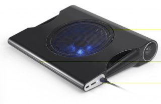 Multilaser Sound Cooler para Notebook até 15.6'' - AC171