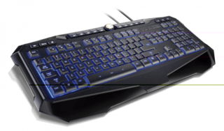 Multilaser Teclado Gamer Multimídia USB LED TC167