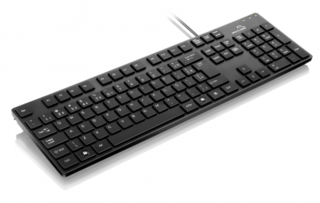 Multilaser Teclado Soft Touch USB Preto TC142