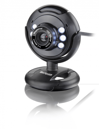 Multilaser WebCam Night Vision 16.0Megapixel (Interpolados)